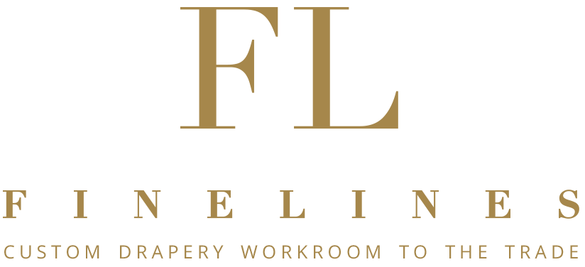 Finelines Custom Drapery Workroom Logo